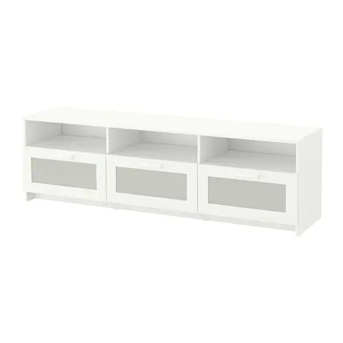 Mueble Tv Banak Brimnes Tv Bench - White - Ikea