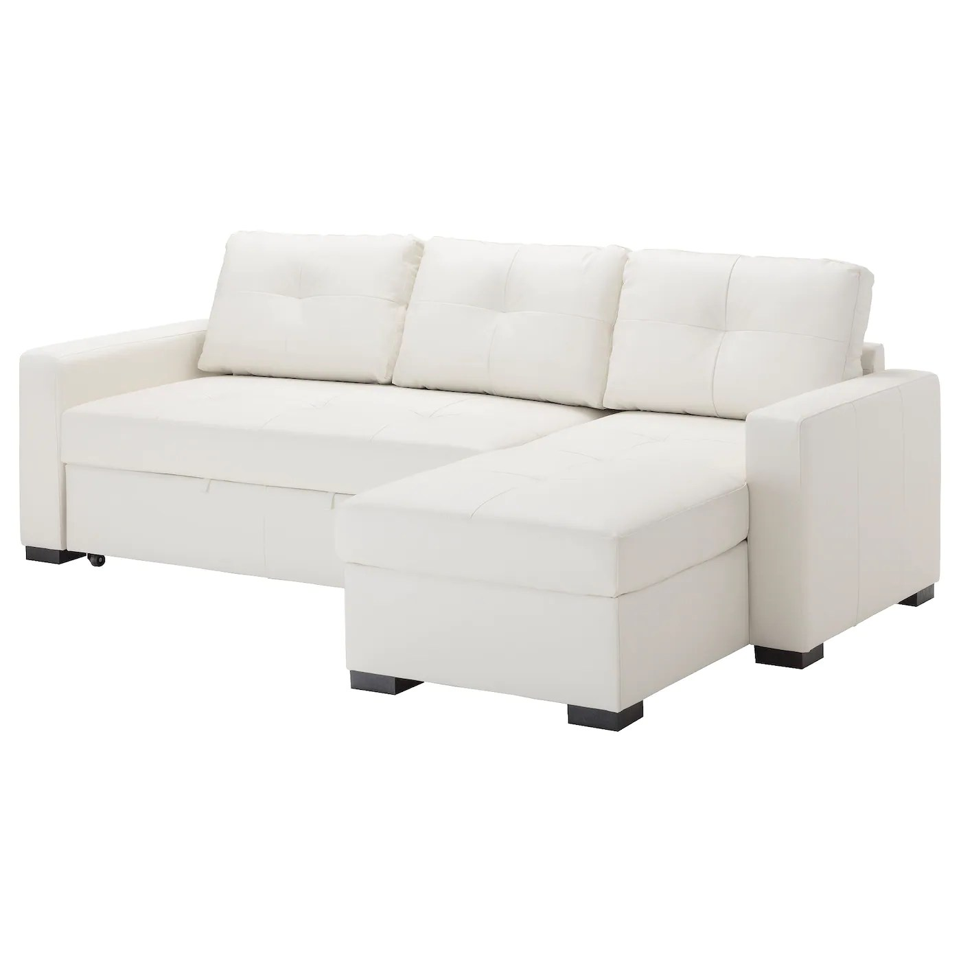 Sofa Ikea Ragunda Corner Sofa Bed With Storage Kimstad Off White