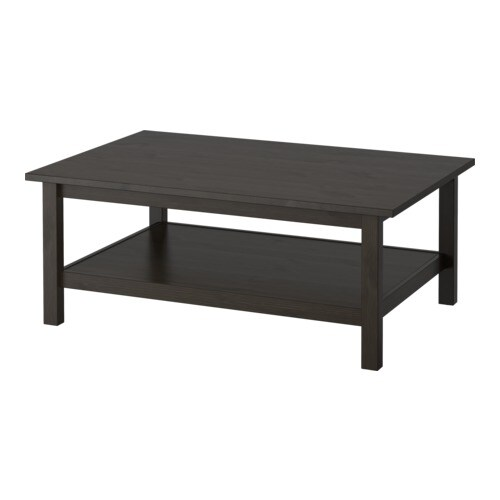 Ikea Tables Basses Hemnes Table Basse - Brun Noir - Ikea