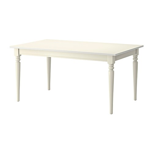 Ikea Table 6 Personnes Ingatorp Table Extensible - Ikea