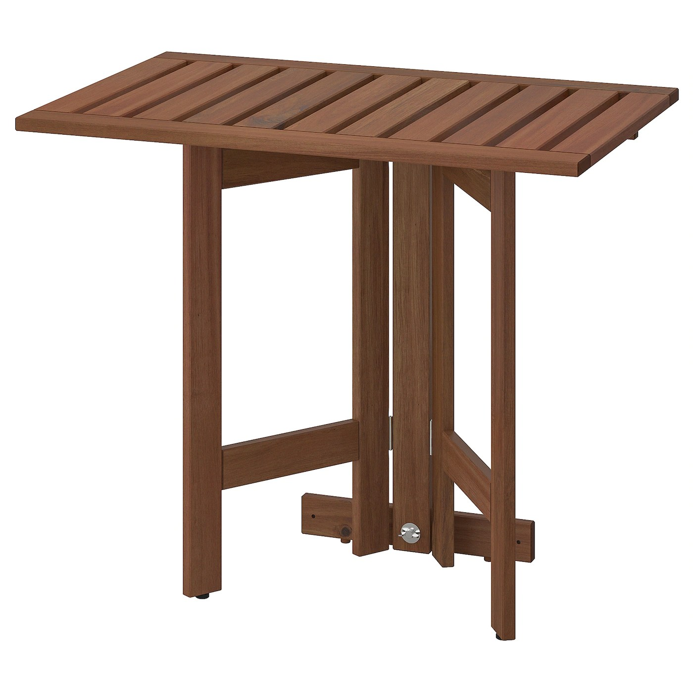 ÄpplarÖ Gateleg Table For Wall Outdoor Brown Stained Ikea - Table Pliable Ikea