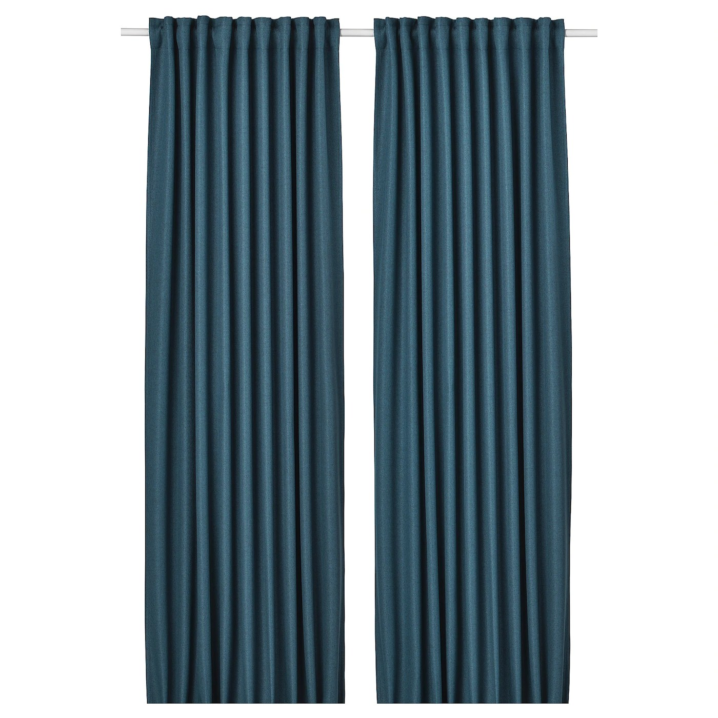 Annakajsa Room Darkening Curtains 1 Pair Blue Ikea - Ikea Vorhang Annakajsa