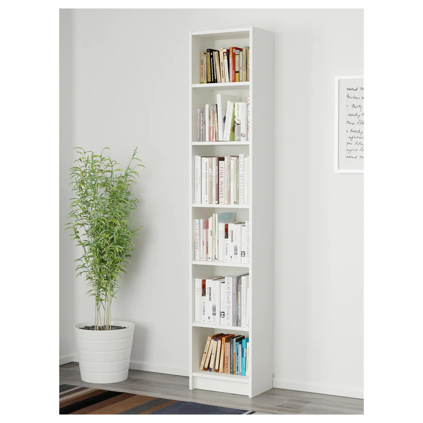 Ikea Billy Bookcase White Billy Bookcase White 40 X 28 X 202 Cm Ikea