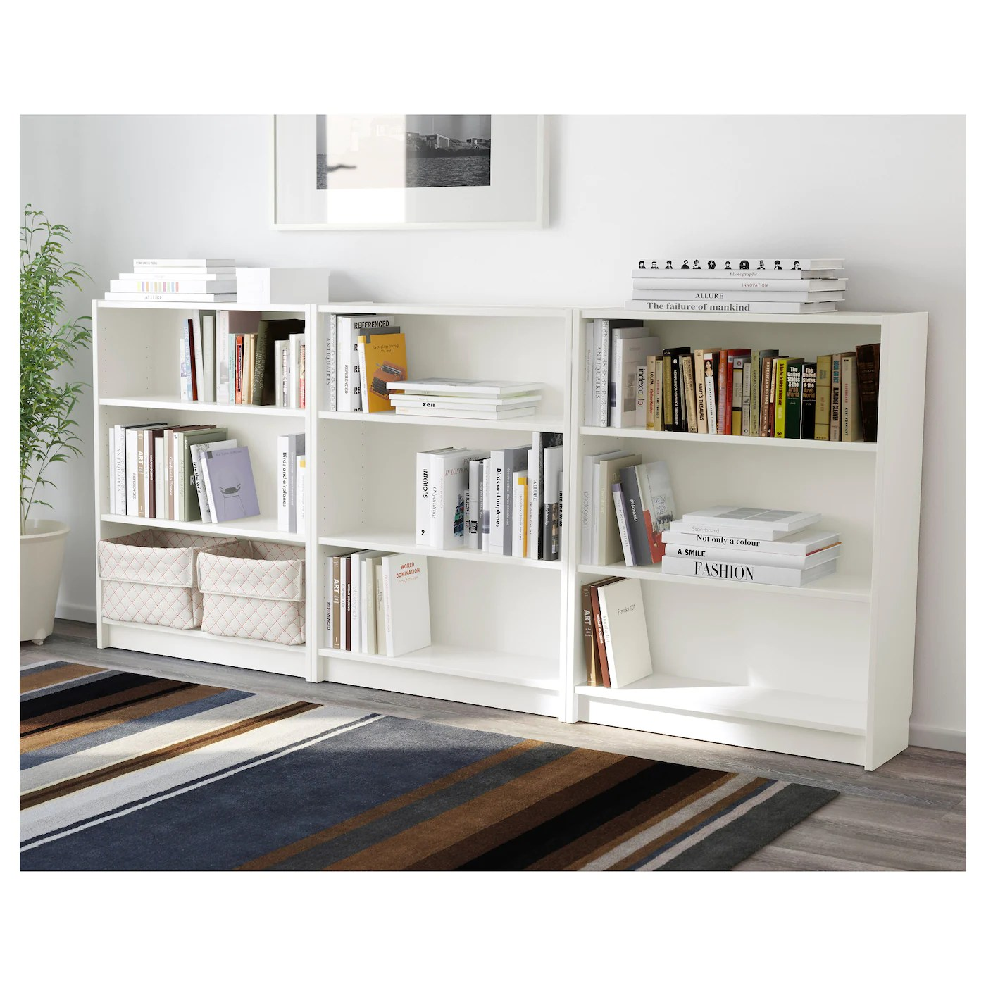 Ikea Billy Bookcase White Billy Bookcase White 240 X 106 X 28 Cm Ikea