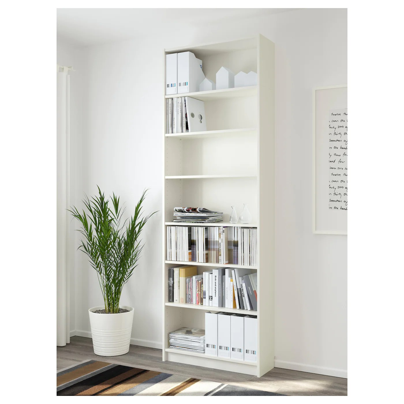 Ikea Billy Bookcase White Billy Bookcase White 80 X 237 X 28 Cm Ikea