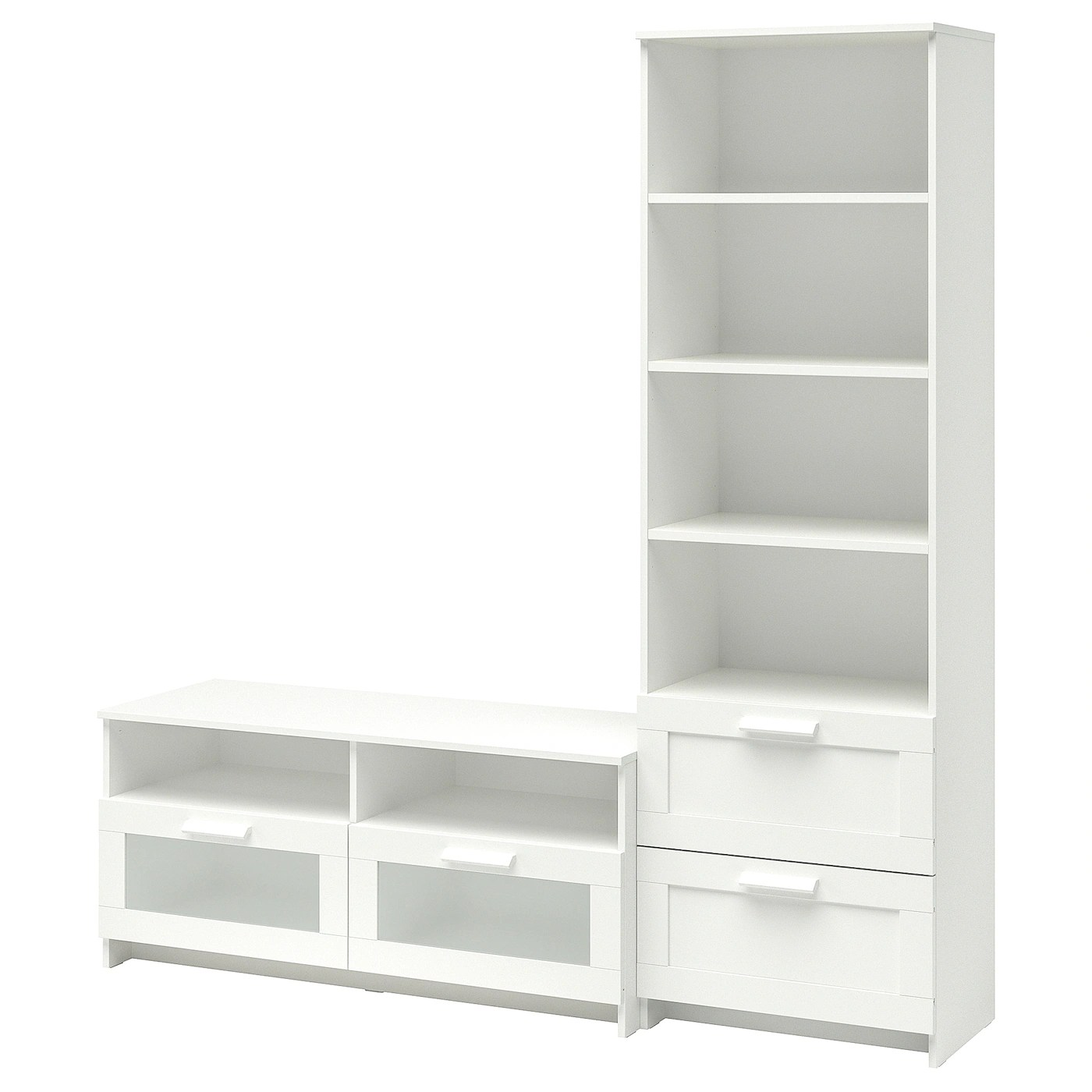 Ikea Tv Sideboard Brimnes Tv Storage Combination White
