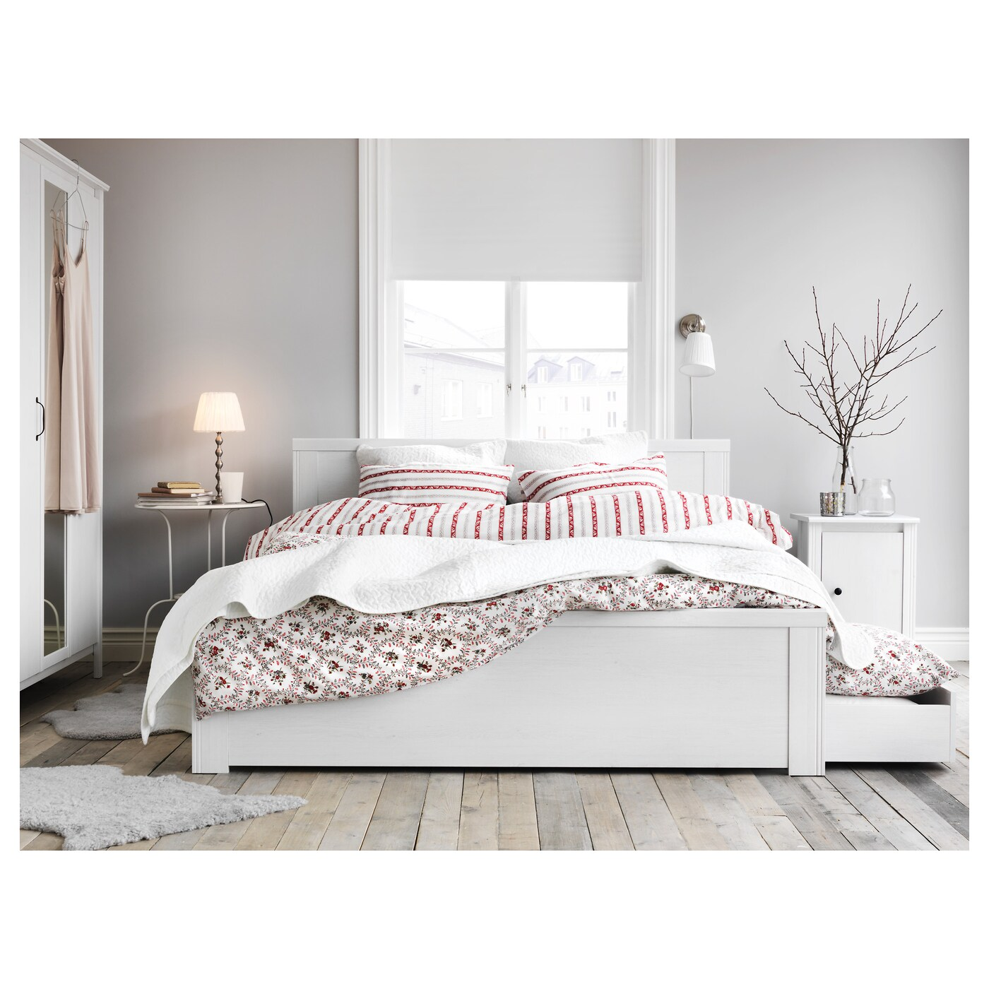 Dekenlade Ikea Bed Frame Brusali Bed Frame