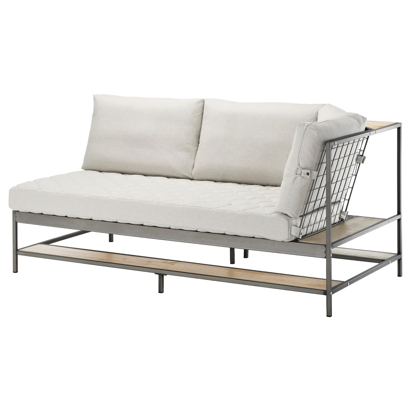 Couch Ikea Ekebol Three Seat Sofa Katorp Natural