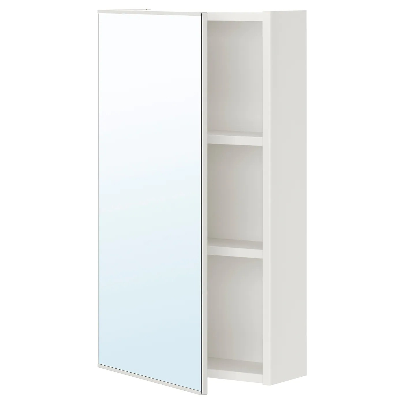 Spiegelschrank Ikea Enhet Mirror Cabinet With 1 Door - White - Ikea
