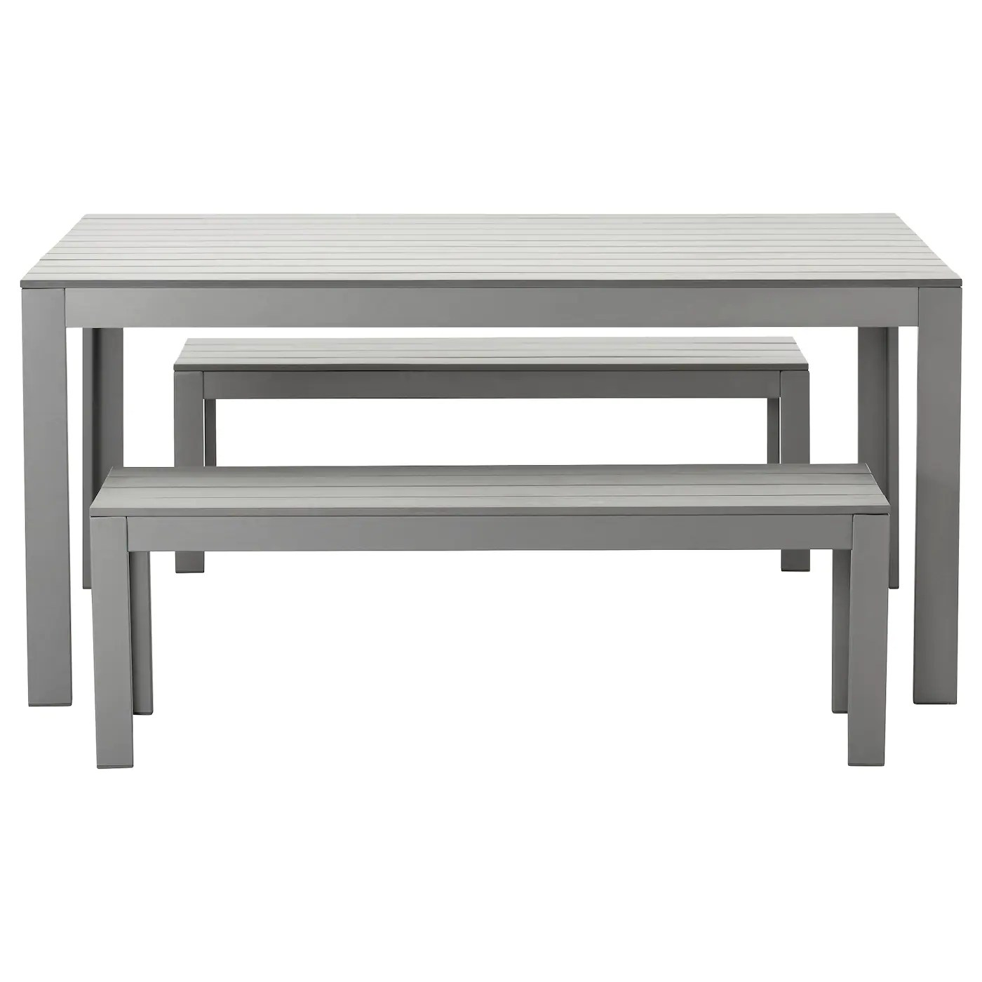 Table Exterieure Ikea Falster Table 432 Benches Outdoor Grey Ikea