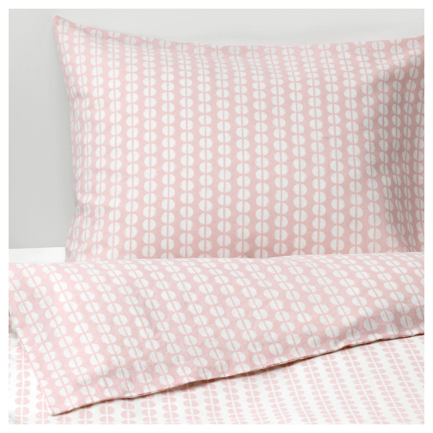 Rosa Bettwäsche Ikea - FjÄllvedel Quilt Cover And Pillowcase Pink