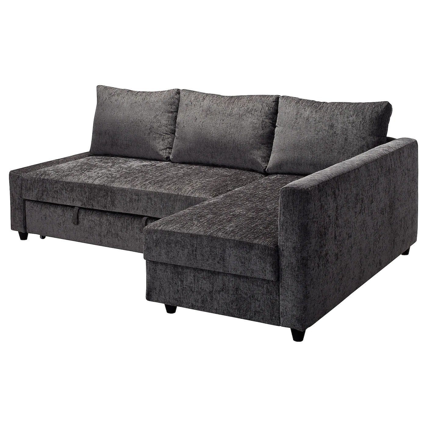 Ikea Sofa Bed Friheten Corner Sofa Bed With Storage Dark Grey