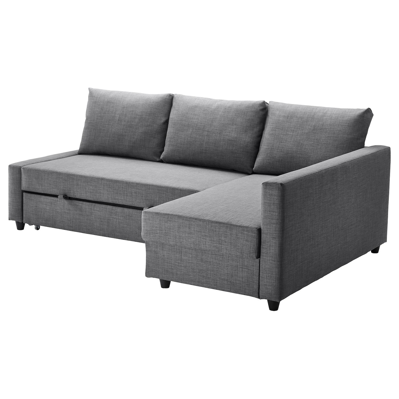 Klassische Sofas You Can Assemble Friheten Corner Sofa Bed With Storage Skiftebo Dark Grey