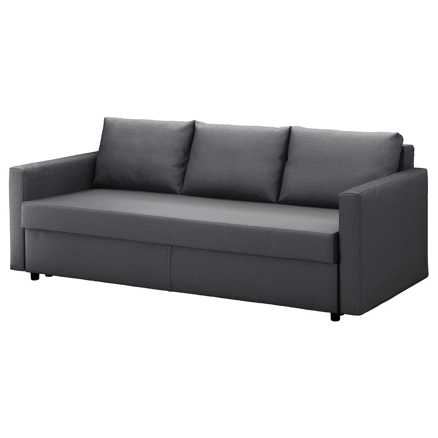 Ikea Online Bettsofa Friheten Three Seat Sofa Bed Skiftebo Dark Grey