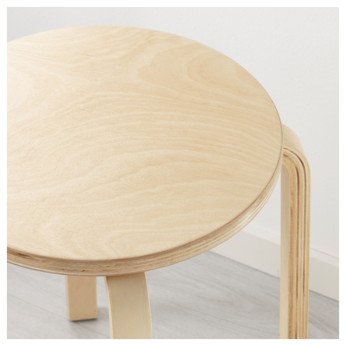Plywood Furniture Frosta Stool Birch Plywood