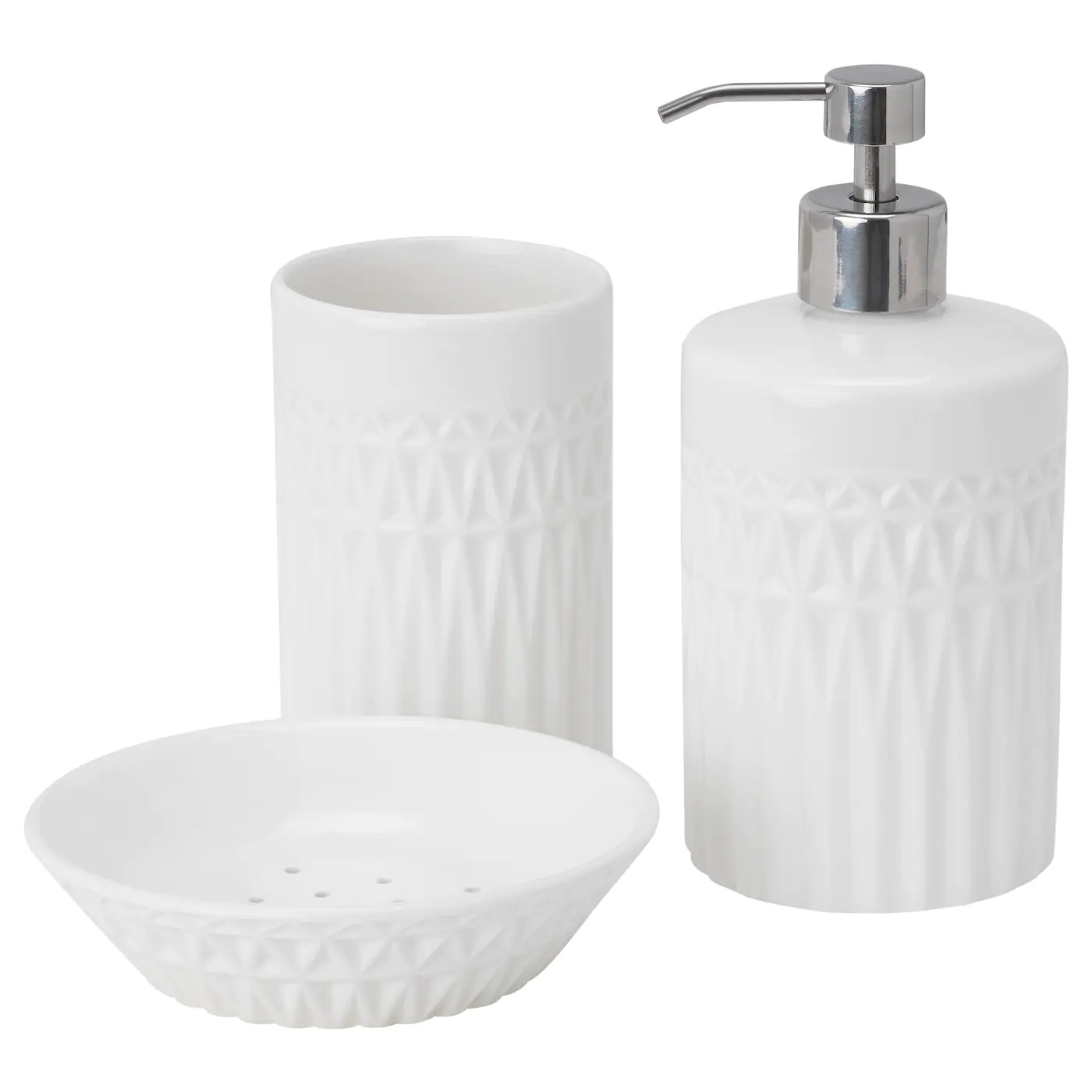 Seifenspender Küche Ikea Ikea Voxnan Stylish Ceramic Soap Dish Bathroom Toilet Kitchen Brand New Uk-b786
