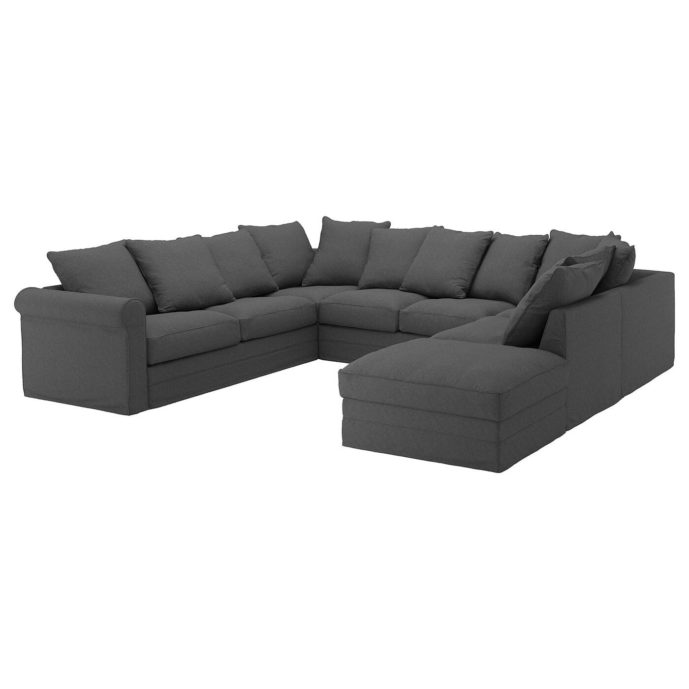 U Couch GrÖnlid U-shaped Sofa, 6 Seat - With Open End, Tallmyra ...
