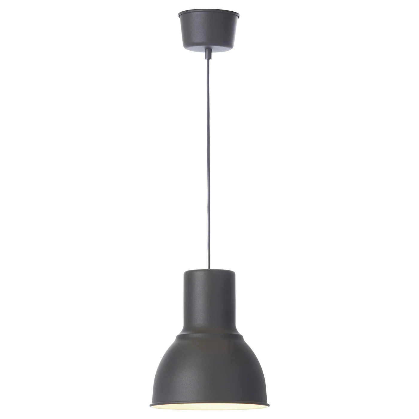 Ikea Light Pendant Hektar Pendant Lamp Dark Grey 22 Cm Ikea