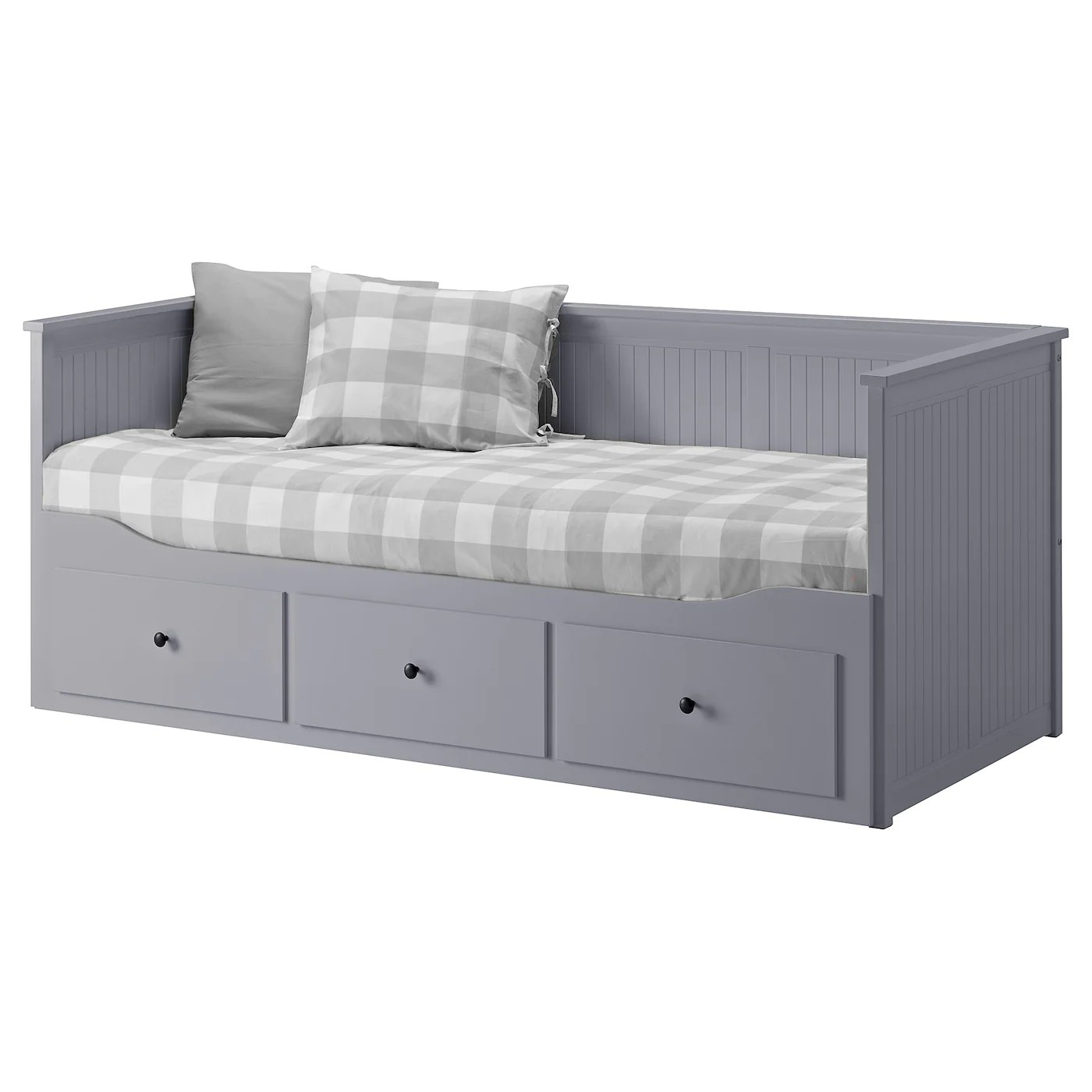 Sofa Ikea Oferta Hemnes Day Bed Frame With 3 Drawers Grey