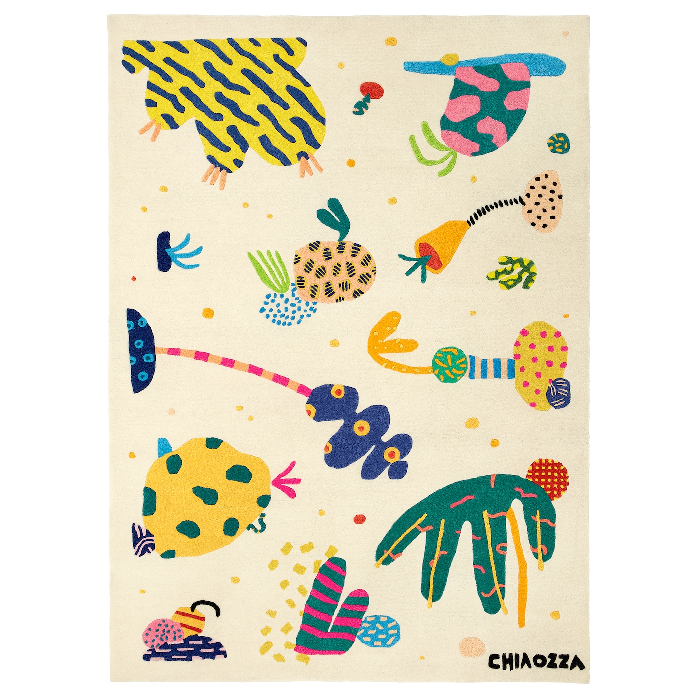 Tappeto Musicale Jump& Ikea Art Event 2019 Rug Low Pile Multicolour