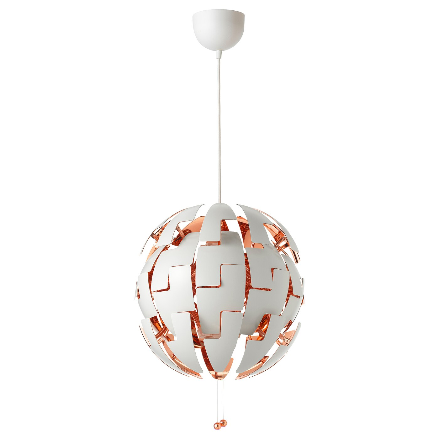 Lampe Ball Ikea Ps 2014 Pendant Lamp White Copper Colour