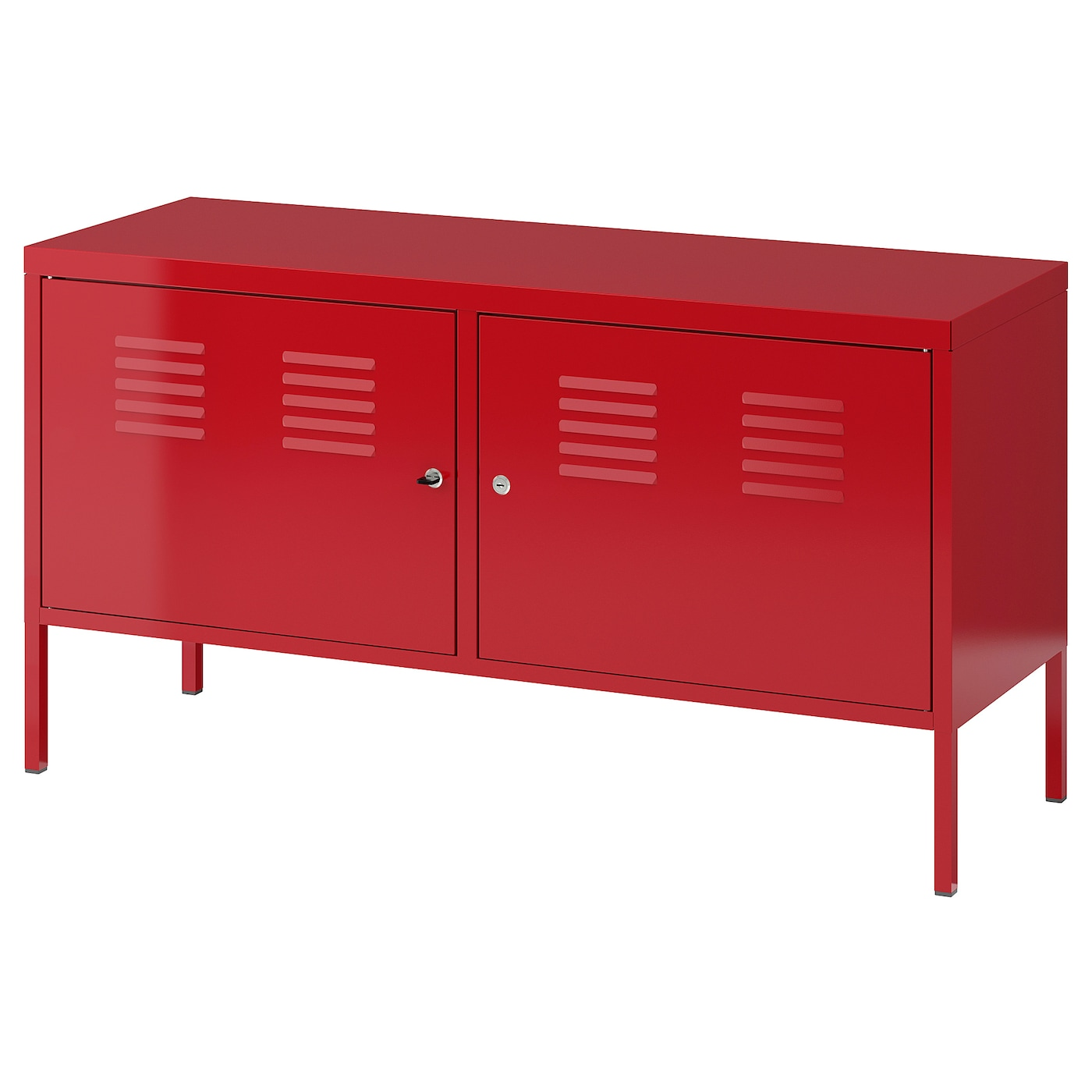 Ikea Meuble Metal Ikea Ps Cabinet Red