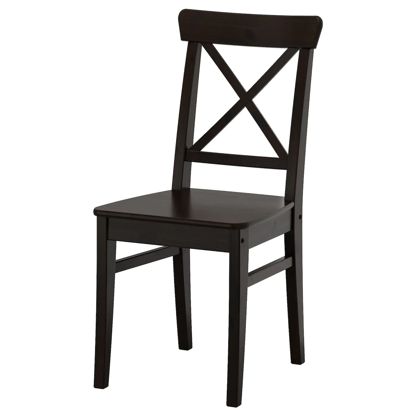 Ikea Klapstoel Ingolf Chair Brown Black Ikea