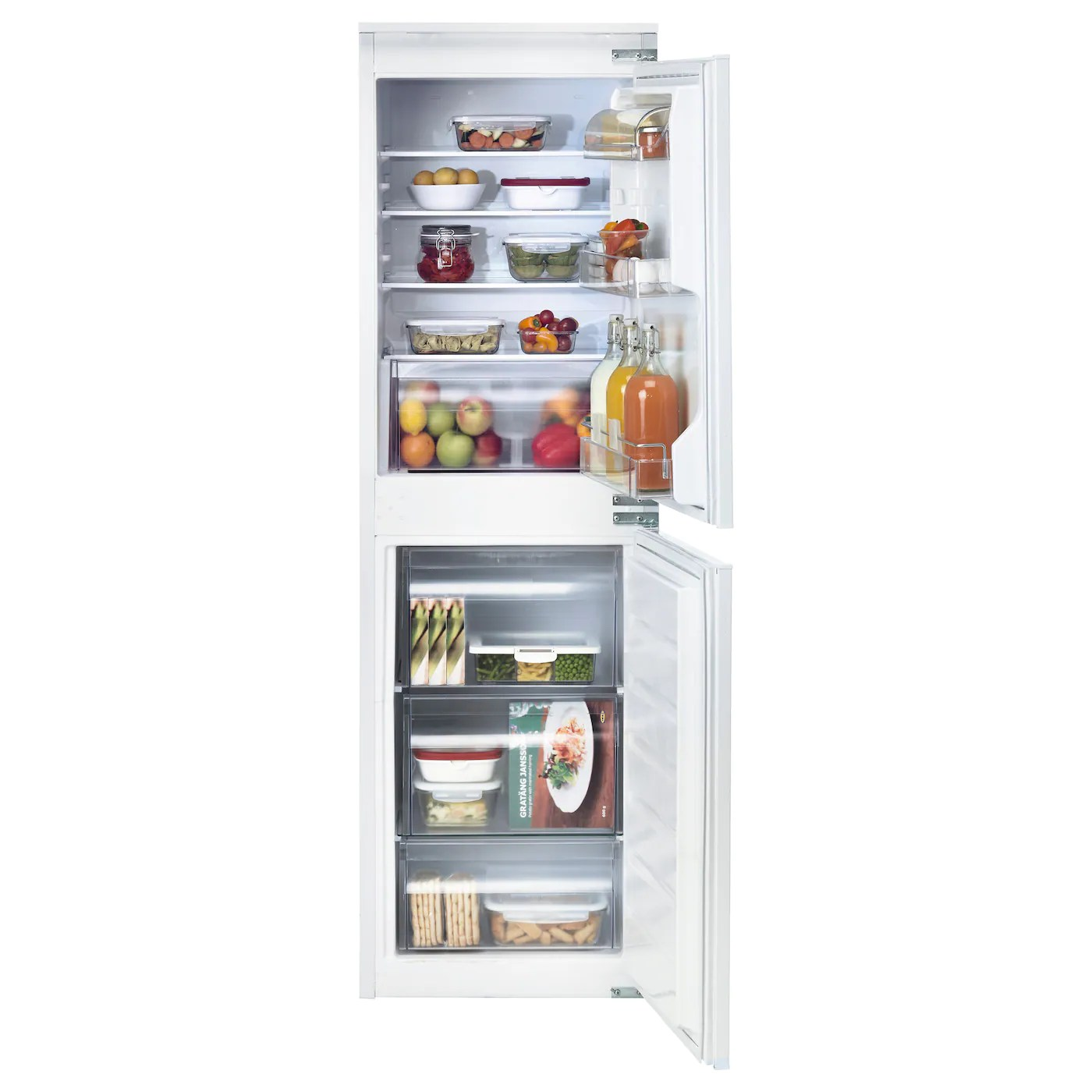 Fridge Freezer Isigt Integrated Fridge Freezer A White