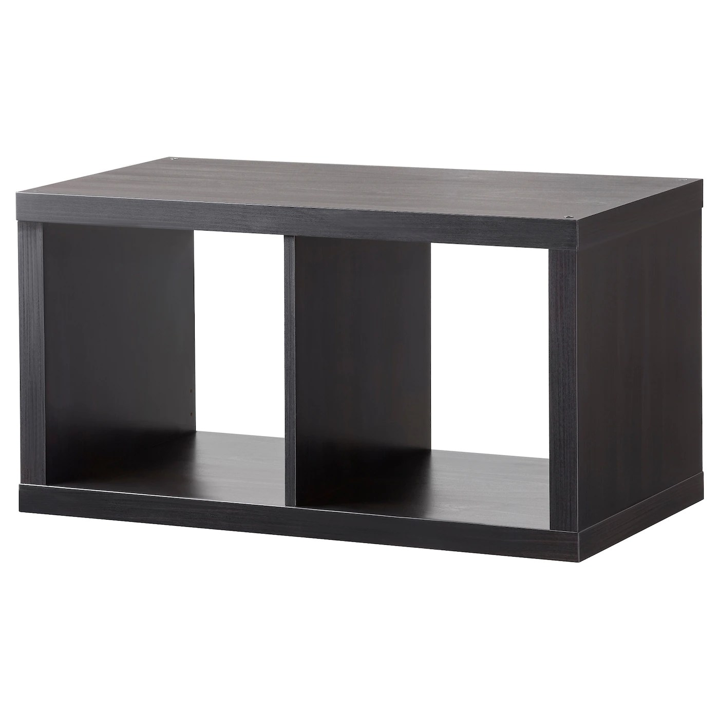 Regalwürfel Nussbaum Kallax Shelving Unit Black Brown 77 X 42 Cm Ikea