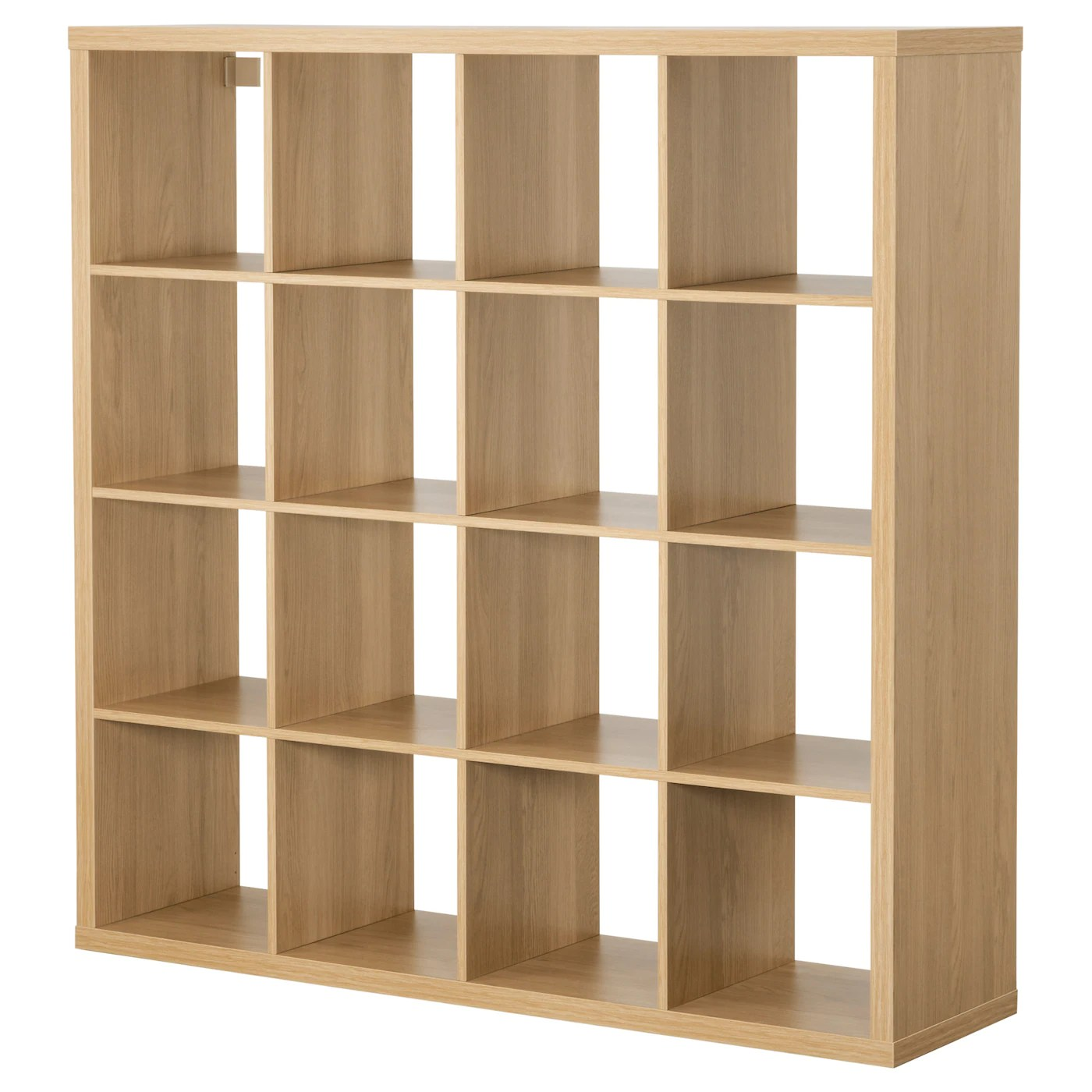 Ikea Kallax Cd Storage Kallax Shelving Unit Oak Effect