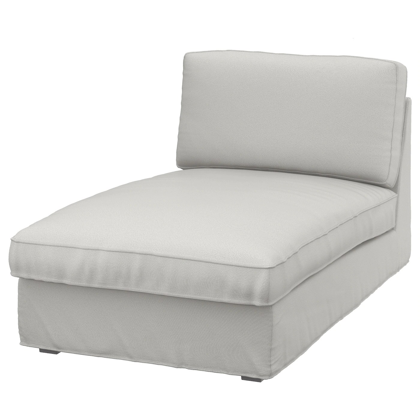 Chause Longue Kivik Chaise Longue Ramna Light Grey