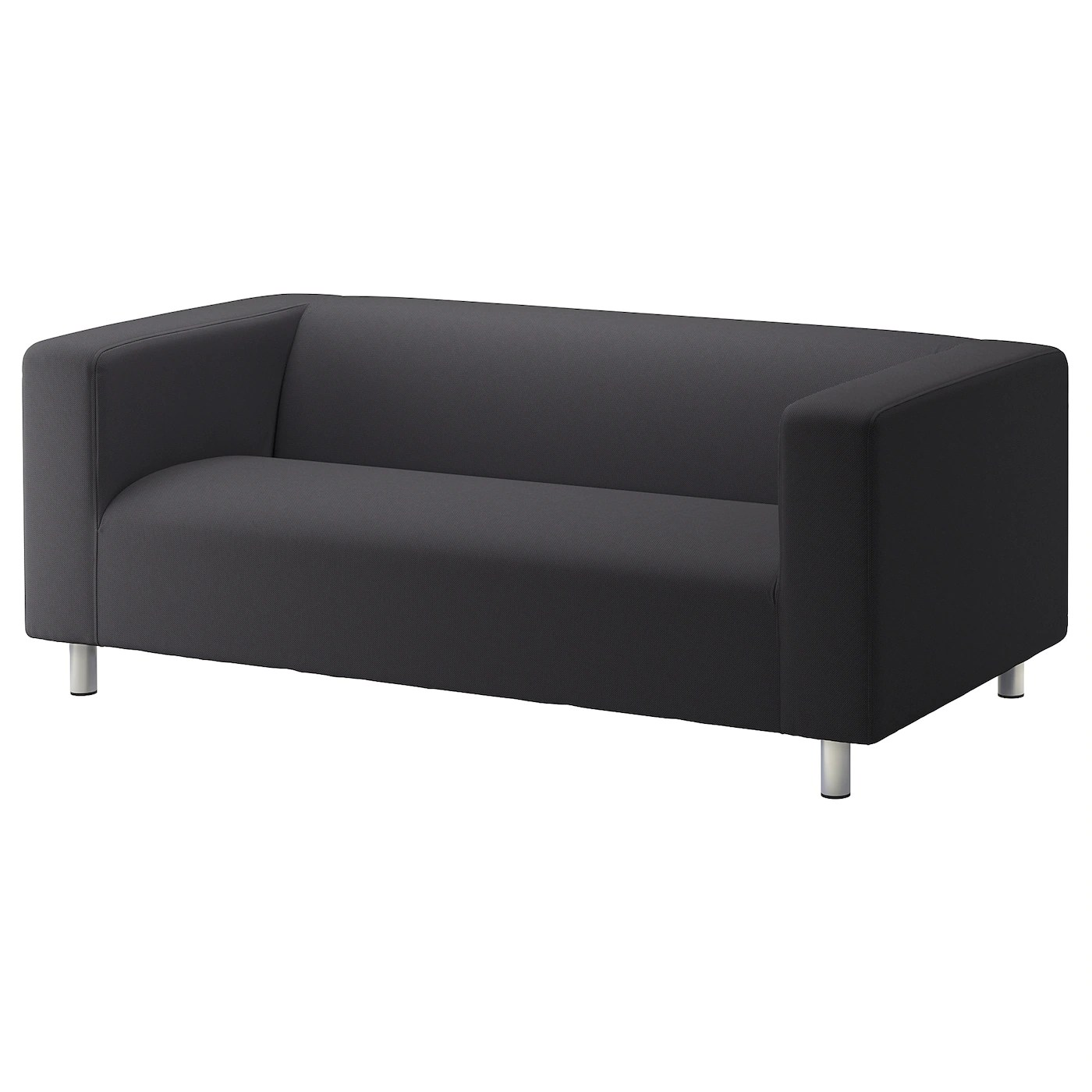 2 Seater Ikea Sofa Cover Klippan 2 Seat Sofa Kabusa Dark Grey