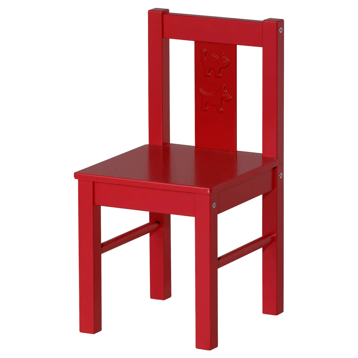 Small Kids Chair Kritter Children 39s Chair Red Ikea
