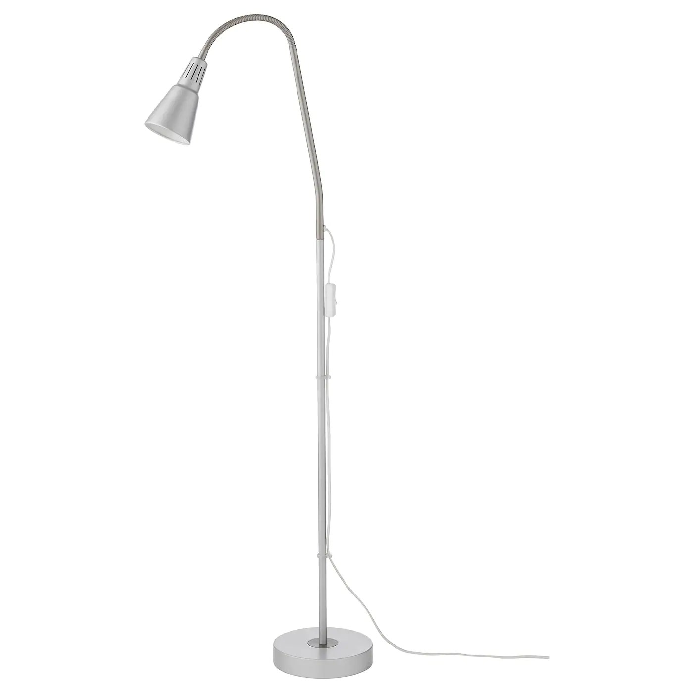 Ikea Reading Lamp Kvart Floor Reading Lamp Silver Colour