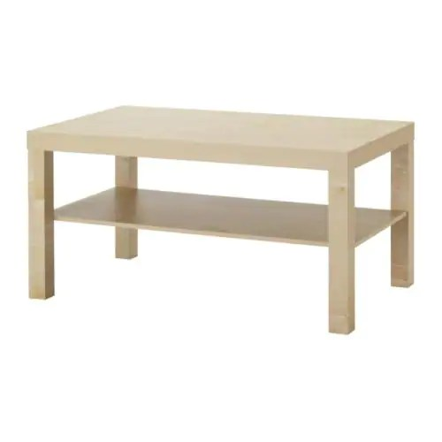 Ikea Couchtisch Mit Rollen Lack Coffee Table - Birch Effect - Ikea
