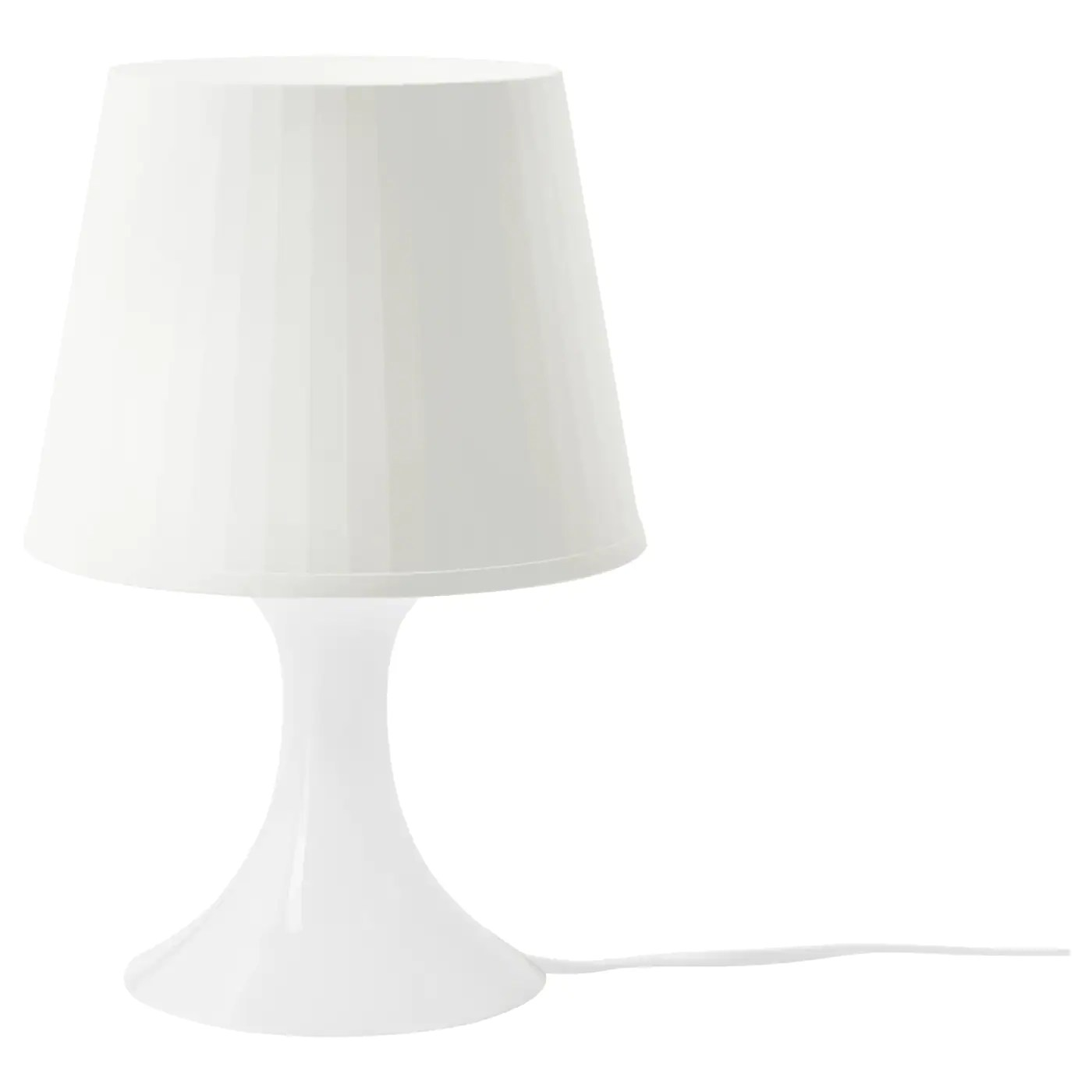 Lamparas De Sobremesa Ikea Lampan Table Lamp White Ikea