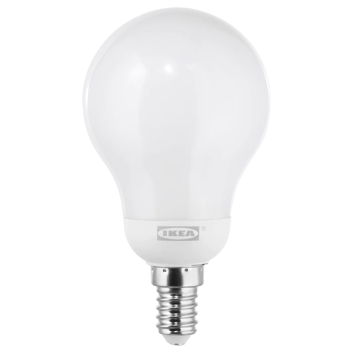 Led E 14 Ledare Led Bulb E14 600 Lumen Warm Dimming Globe Opal White