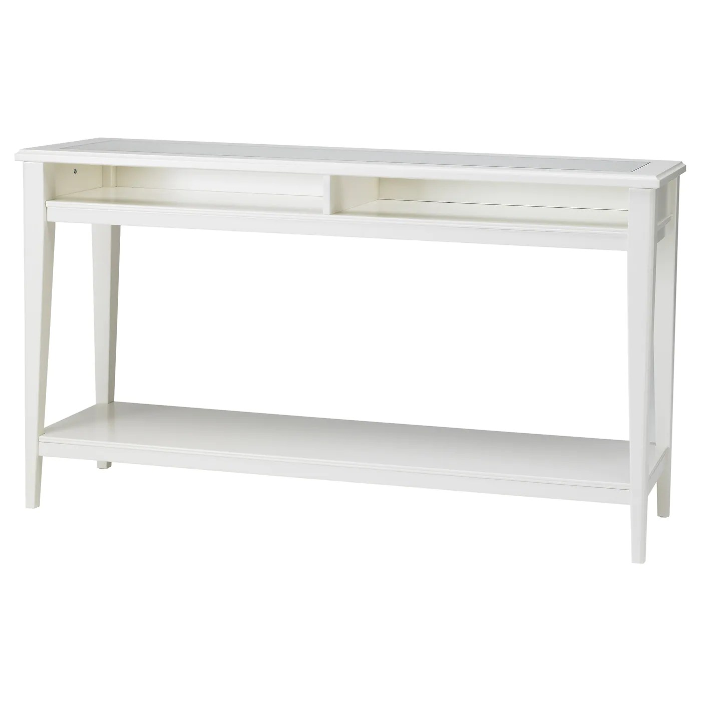 Table Console Ikea Liatorp Console Table White Glass 133 X 37 Cm Ikea