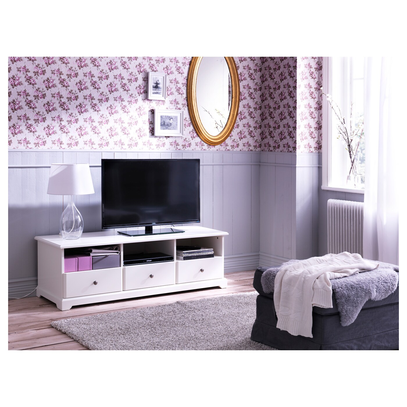 Ikea Liatorp Tv Bank Liatorp Tv Bench White 145x49x45 Cm Ikea
