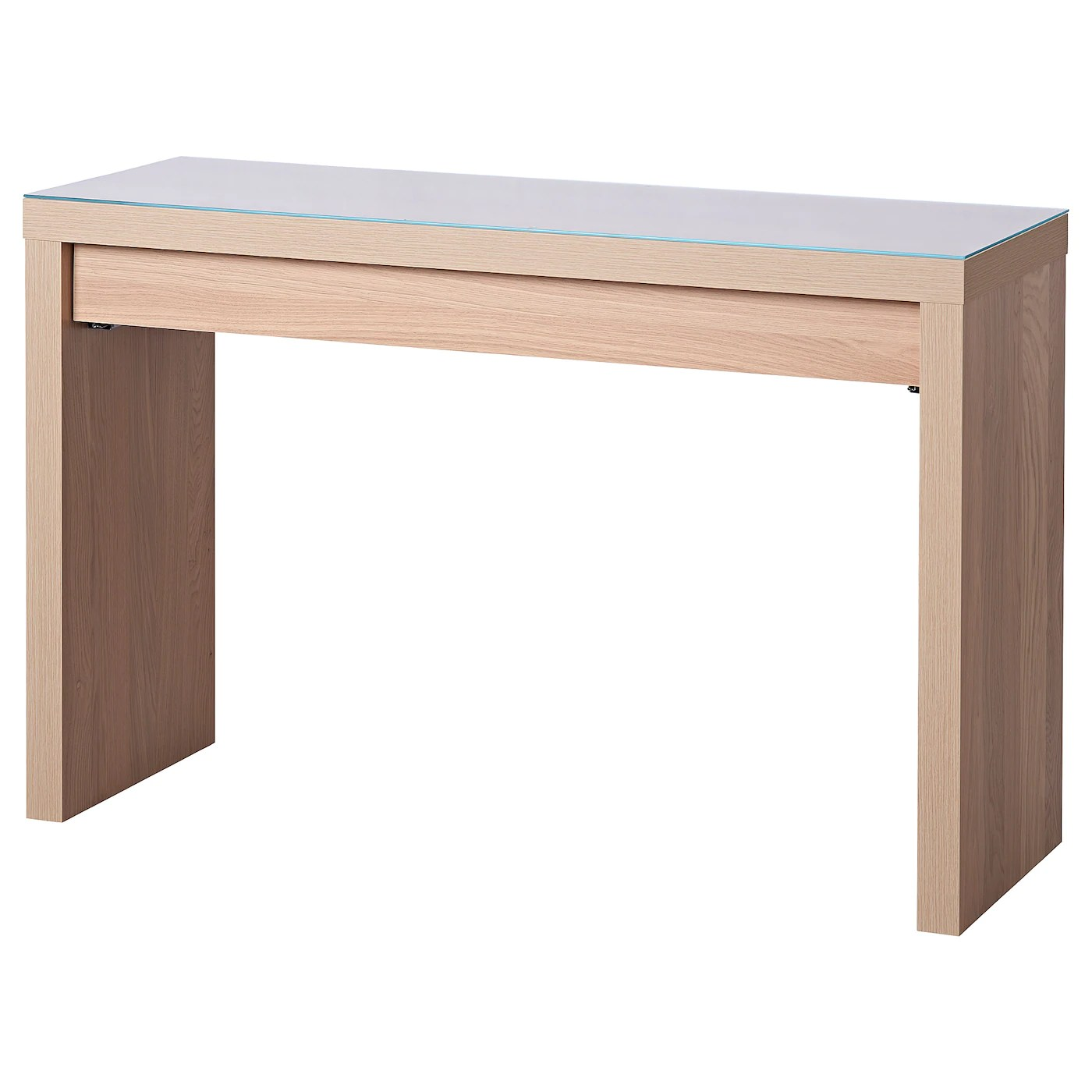 Ikea Dressing Table Malm Dressing Table White Stained Oak Veneer