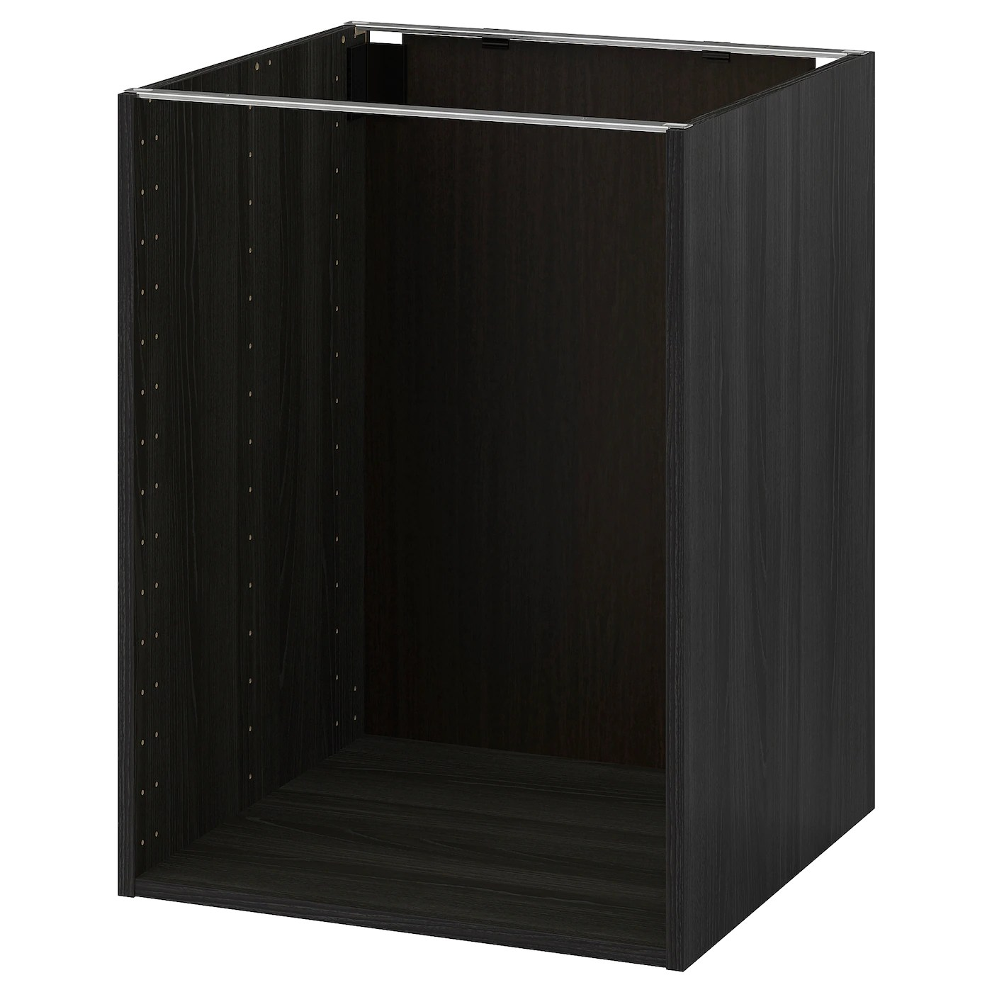 Metod Ikea Metod Base Cabinet Frame Wood Effect Black