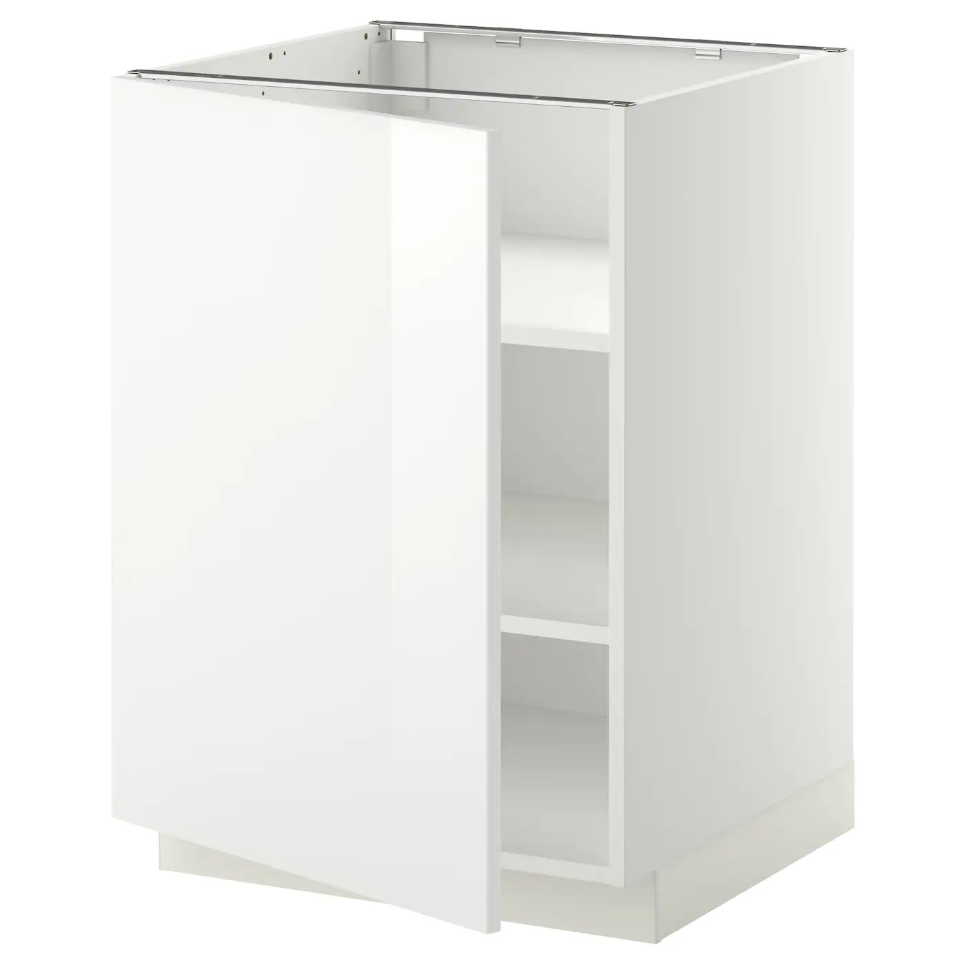 Metod Ikea Metod Base Cabinet With Shelves White Ringhult White