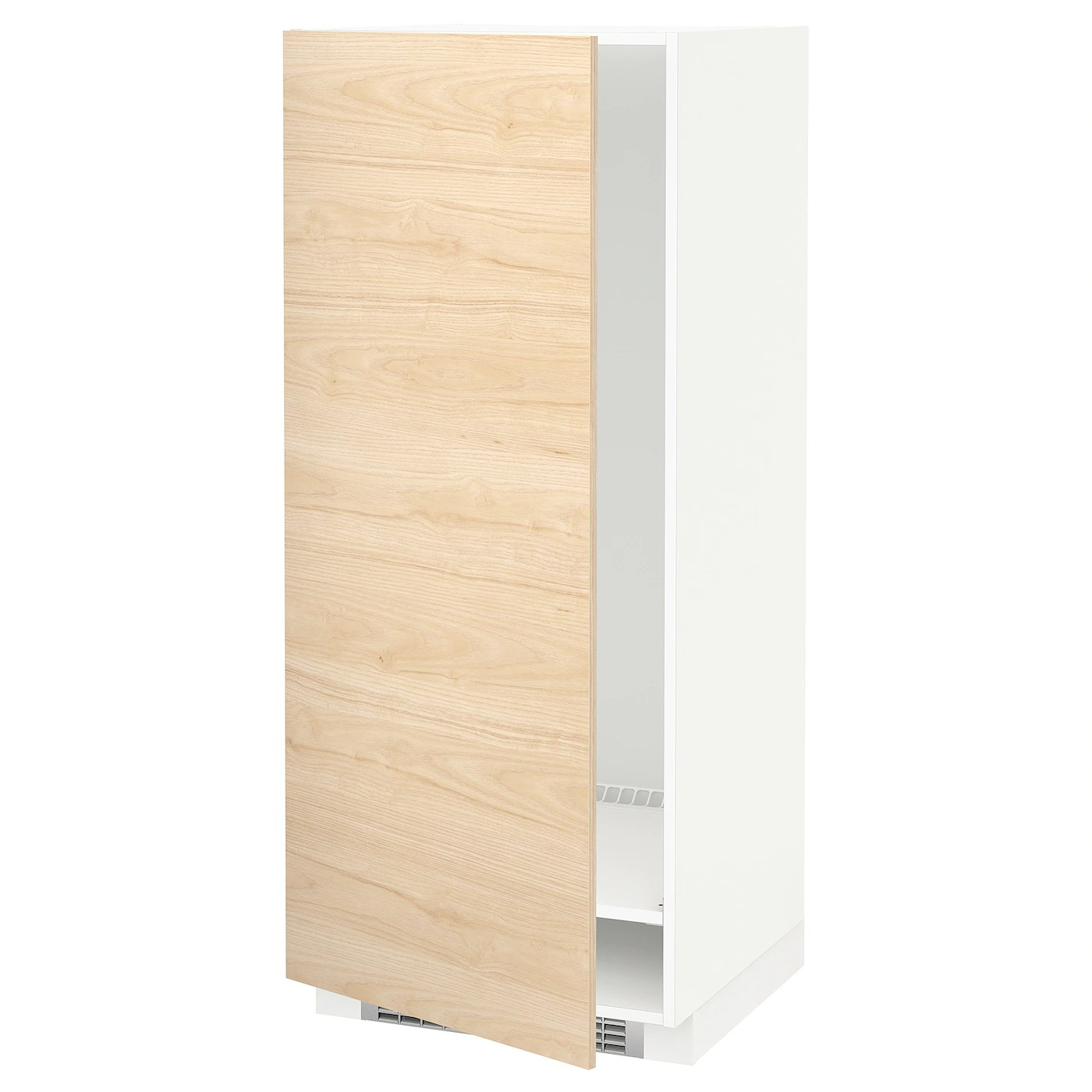 Ikea Metod Pdf Metod High Cabinet For Fridge Freezer White Askersund Light Ash Effect