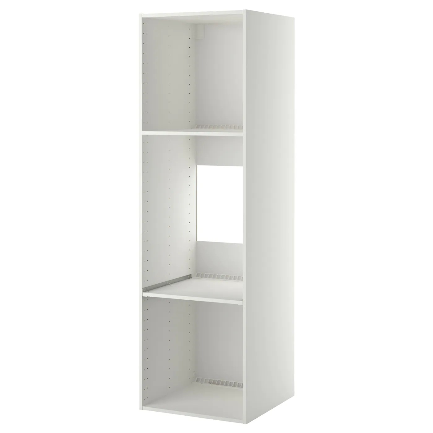 Ikea Küche 2m Metod High Cabinet Frame For Fridge Oven White 60 X 60 X