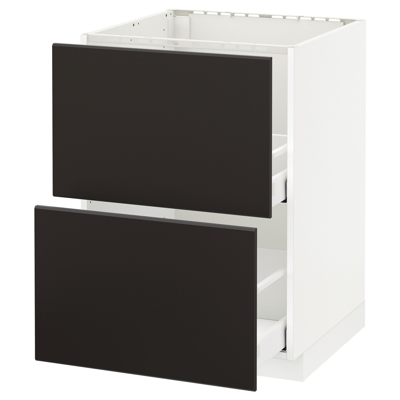 Cucina Ikea Metod Kungsbacka Metod Maximera Base Cab F Sink 2 Fronts 2 Drawers White Kungsbacka Anthracite 60 X 60 Cm Ikea