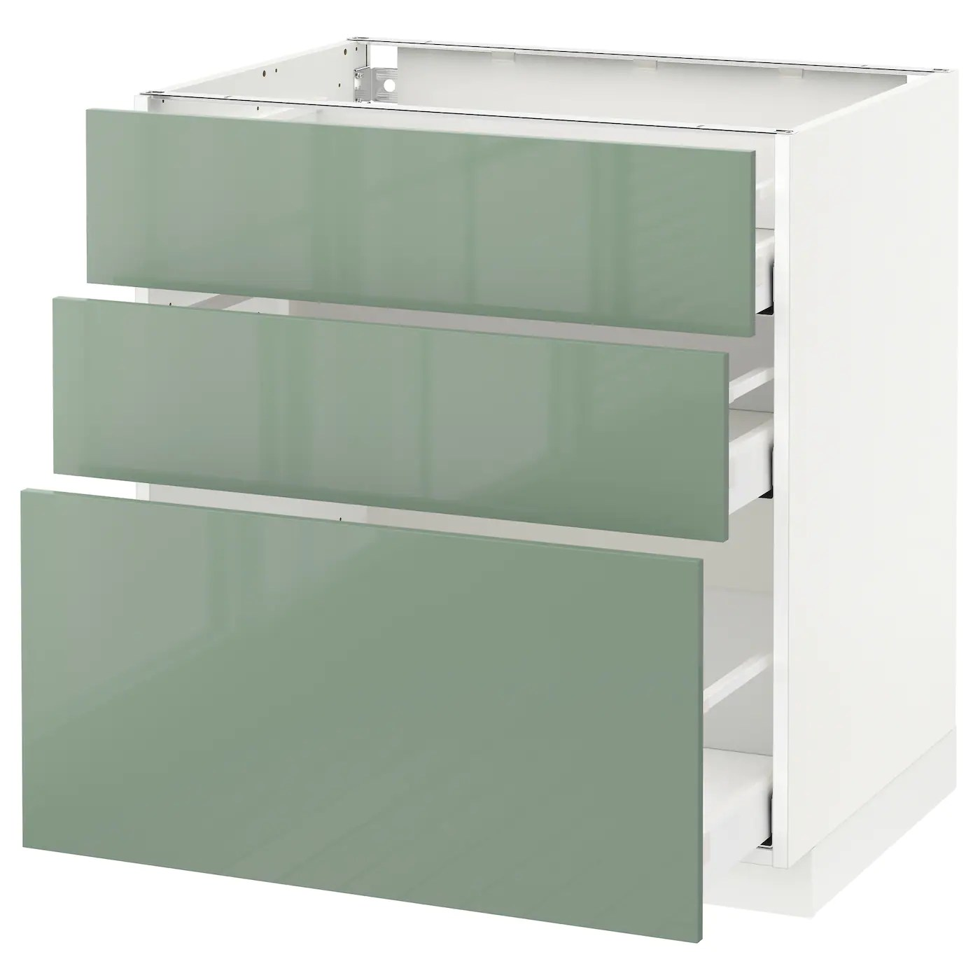 Ikea Küche Metod Kallarp Metod Maximera Base Cabinet With 3 Drawers White Kallarp