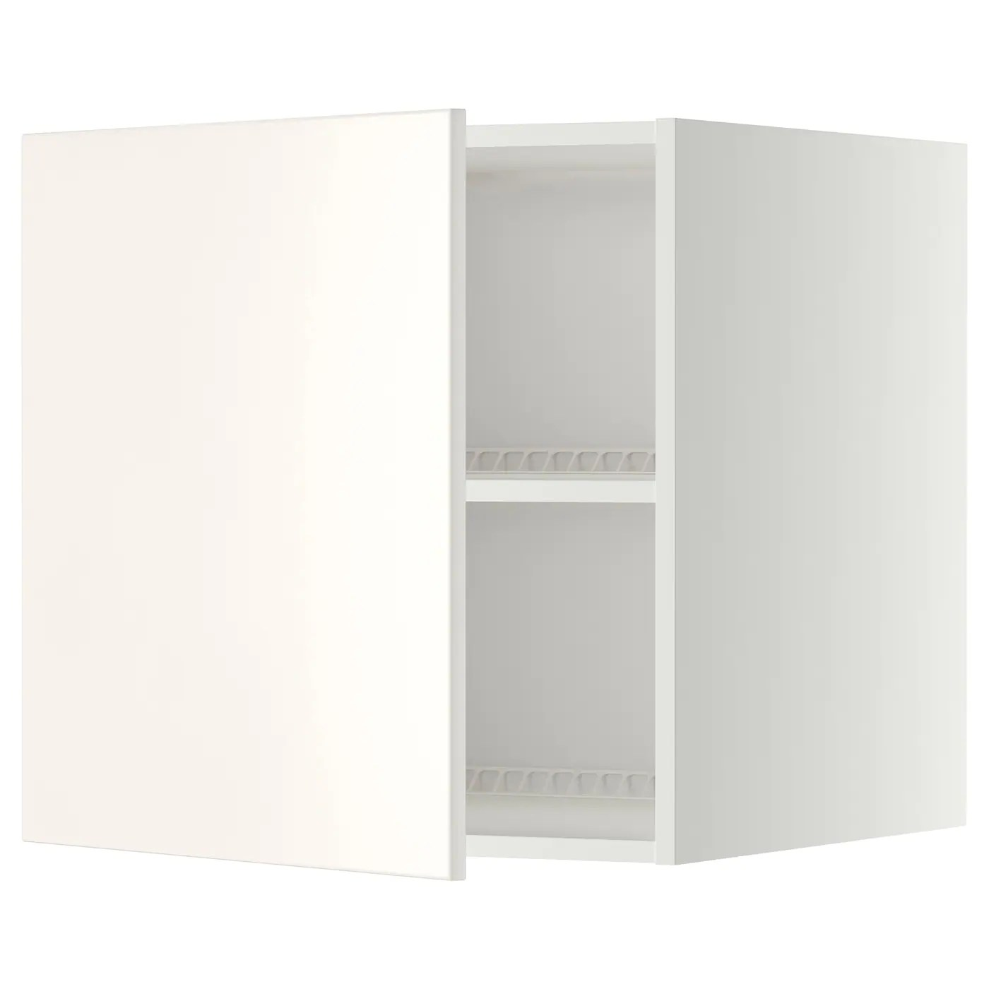 Ikea Küchenschrank Veddinge Metod Top Cabinet To Fridge Freezer White Veddinge White