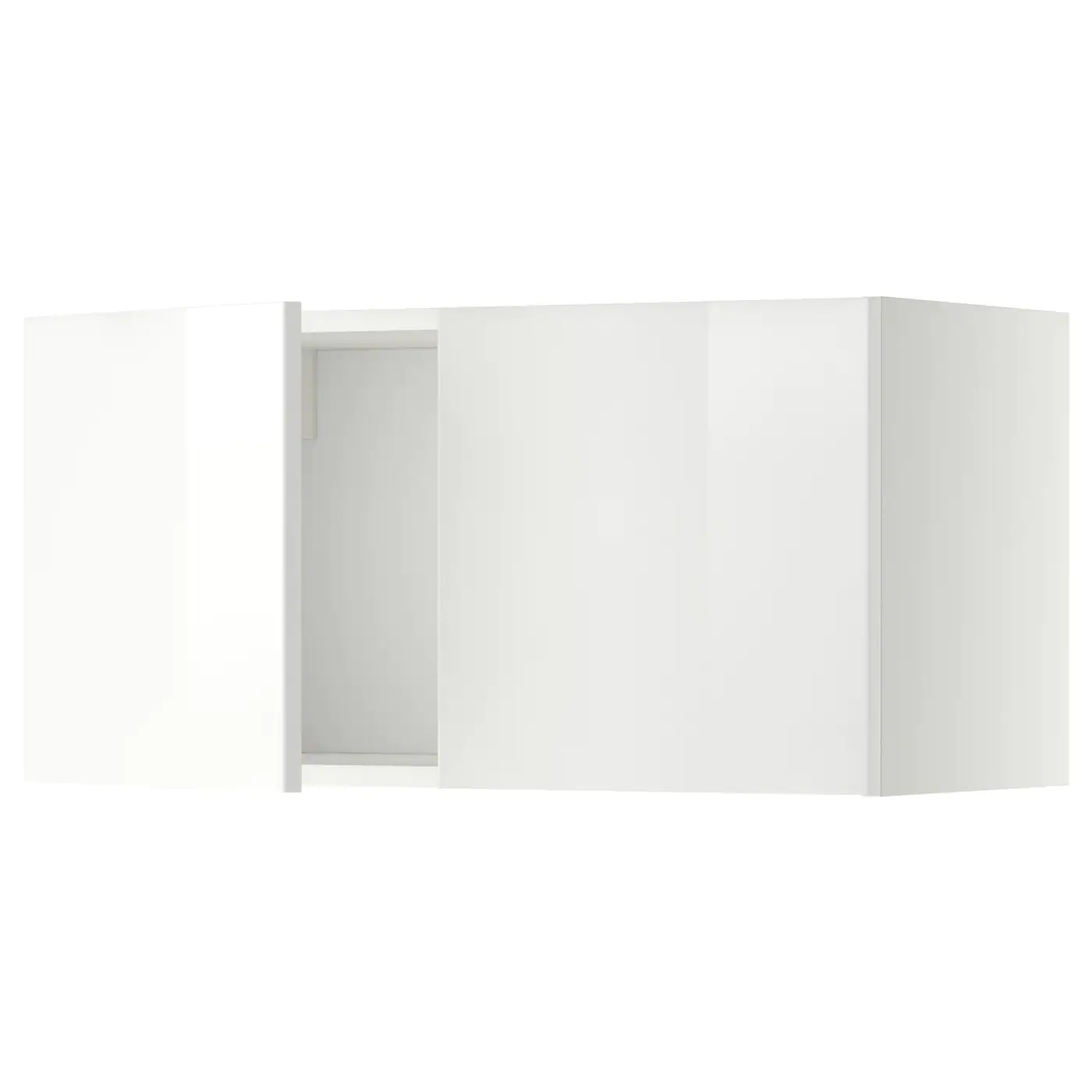 Kast 80 Cm Breed 40 Diep Metod Wall Cabinet With 2 Doors White Ringhult White 80 X