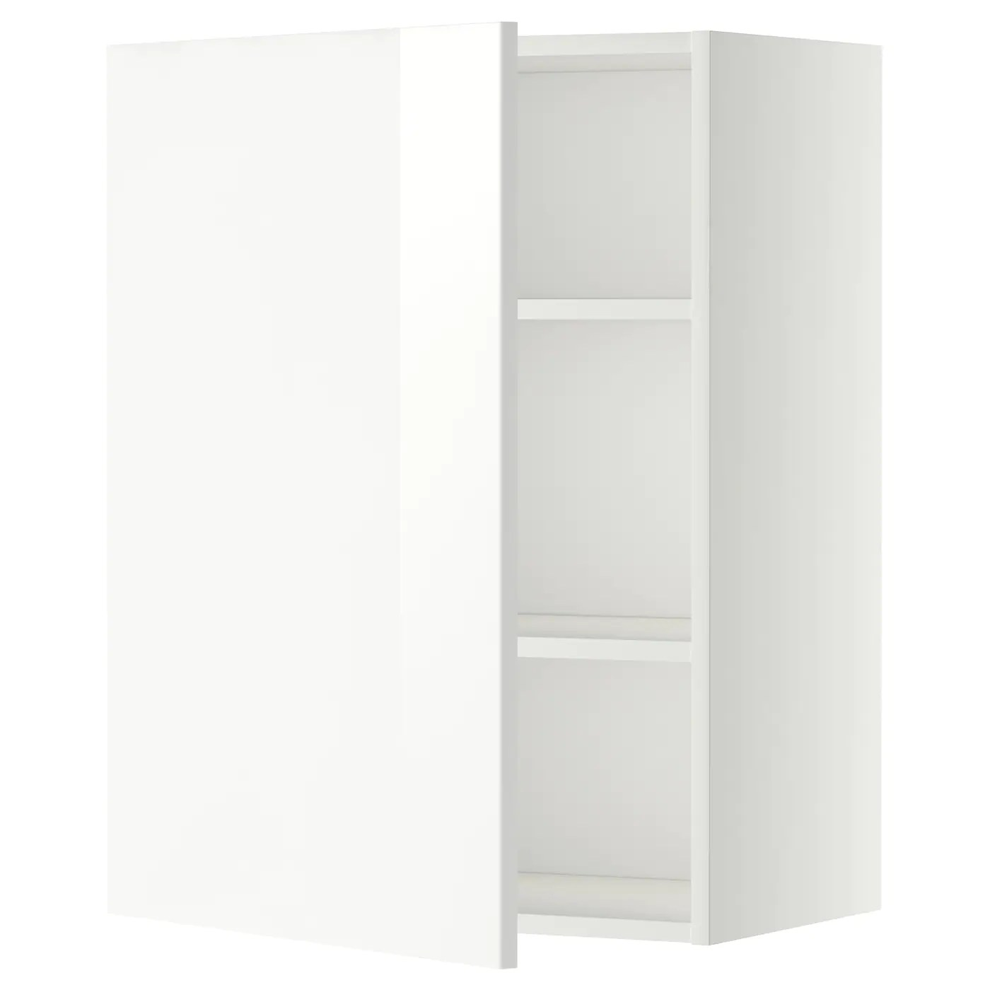 Metod Ikea Metod Wall Cabinet With Shelves White Ringhult White