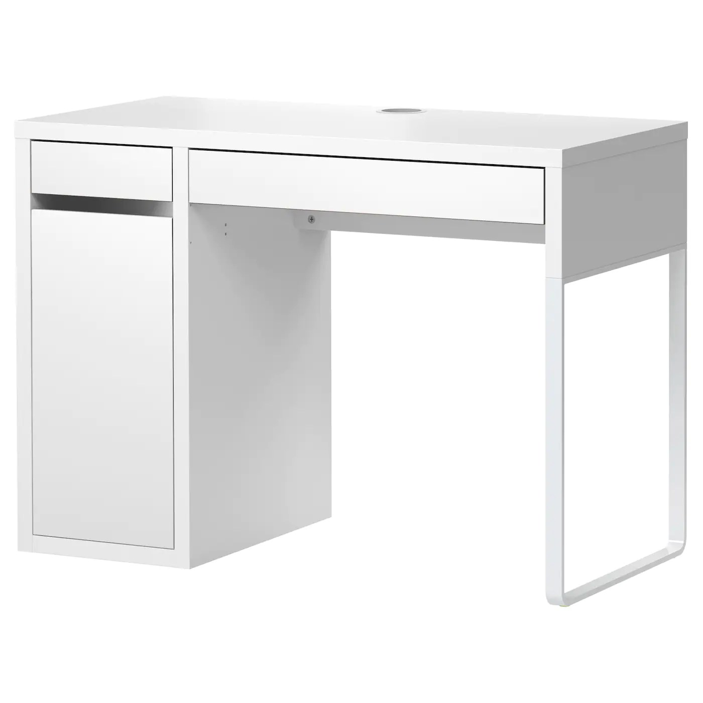 White Office Desk Micke Desk White